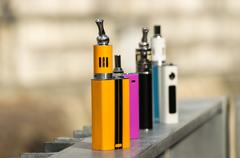 Electronic Cigarette Mods - stock photo