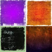 color grunge backgrounds - stock illustration