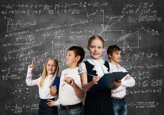 Choosing future profession - stock photo