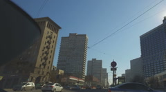 Historic center of Moscow Stock Footage