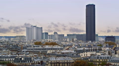 Downtown Paris France Buildings Skyline 5K HD Stock Video Footage Stock Footage