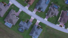 Aerial of Florida Community-Color Corrected Stock Footage