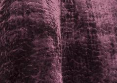Fabric Swatch of Purple Velvet Material Stock Photos