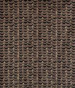 Black and Brown Drapes or Waves Pattern Wallpaper Swatch Stock Photos