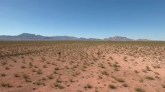 A beautiful dry desert in Nevada Stock Footage