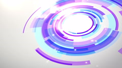 Moving circle background - stock footage