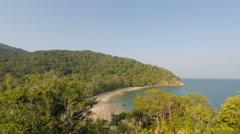 Coast of ko lanta island in thailand Stock Footage
