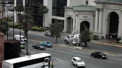 Monterrey City Cars Stock Footage