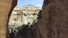 Eagle Canyon Arch Stock Footage