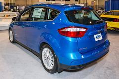 Charlotte International Auto Show 2014 Stock Photos