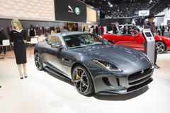 North American International Auto Show 2015 Stock Photos