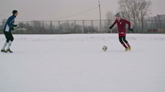 Talented Soccer Forward - stock footage