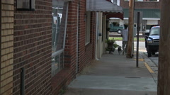 Living In Small Town America - stock footage