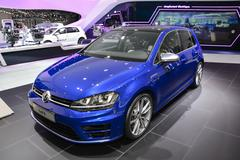 Geneva Motor Show - stock photo