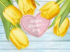 Happy Mothers Day. EPS 10 Stock Illustration