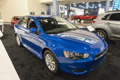 Miami International Auto Show 2015 Stock Photos