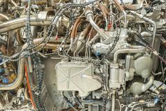 Jet engine detail Kuvituskuvat