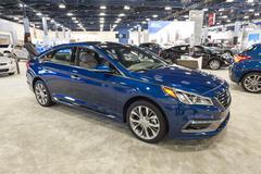 Miami International Auto Show 2015 - stock photo