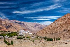 Likir Gompa Tibetan Buddhist monastery in Himalayas Kuvituskuvat