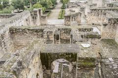 Ancient city ruins of Medina Azahara, Cordoba, Spain - stock photo