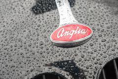 Ford Anglia badge - stock photo