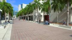 Miami Dade Community College Wolfson Campus Stock Footage