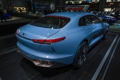 New York International Auto Show Stock Photos