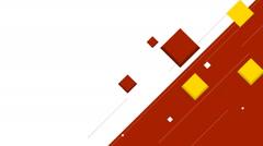 Minimal tech geometric video animation Stock Footage