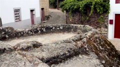 Old winepress Community on a small village in Portugal. Stock Footage
