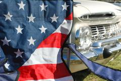 stars and stripes - stock photo