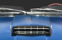 Muscle car closeup Kuvituskuvat