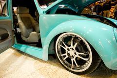 VW Beetle - stock photo