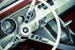 Muscle car interior Kuvituskuvat