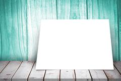 Composite image of white card - stock illustration