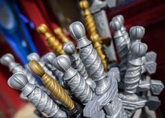 Toy Swords Stock Photos