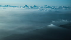 Over 4K Time Lpase - Sea of clouds Stock Footage