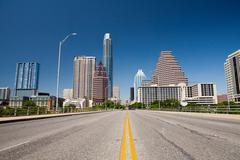 Cityscape of Austin, Texas, USA Kuvituskuvat