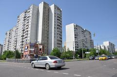 MOSCOW, RUSSIA 05.28.2015 . Zelenograd - Administrative District of Moscow Stock Photos