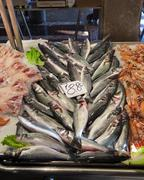 Fish for sale in market - stock photo
