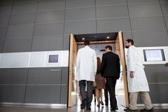 Business people and doctors in office Stock Photos