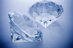 Close up of cut diamonds Kuvituskuvat