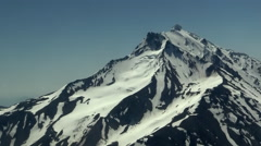 Mount Jefferson Aerial Stock Footage
