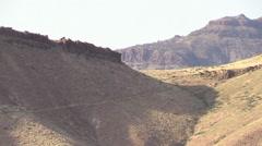 Central Oregon Desert Cliffs Stock Footage
