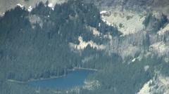 Oregon Cascades Mountain Lake - stock footage