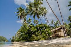 Tropical island landscape, El, Nido, Palawan, Philippines, Southeast Asia - stock photo