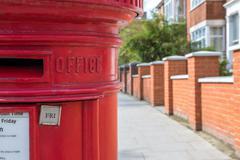 Red British Post Box Kuvituskuvat
