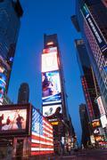 Illuminated signs Times Square, New York, USA Kuvituskuvat
