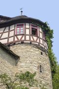 building in Schwaebisch Hall - stock photo