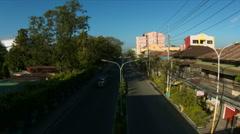 Street Scene in Batangas City Stock Footage