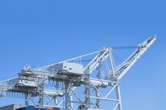 Shipping cranes at the Port of Los Angeles, California, USA Kuvituskuvat